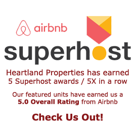 Airbnb 5.0 Superhost Recognized - 5 times in a row